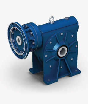 Helical Worm Gearbox CR