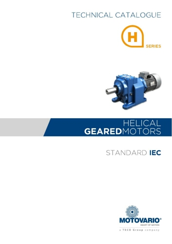 Motovario Helical H